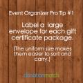 Auction Organizer Pro Tip
